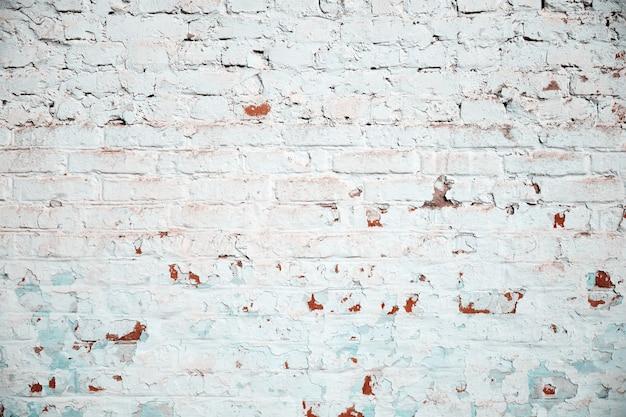 古いビンテージ汚いレンガ壁のテクスチャの背景