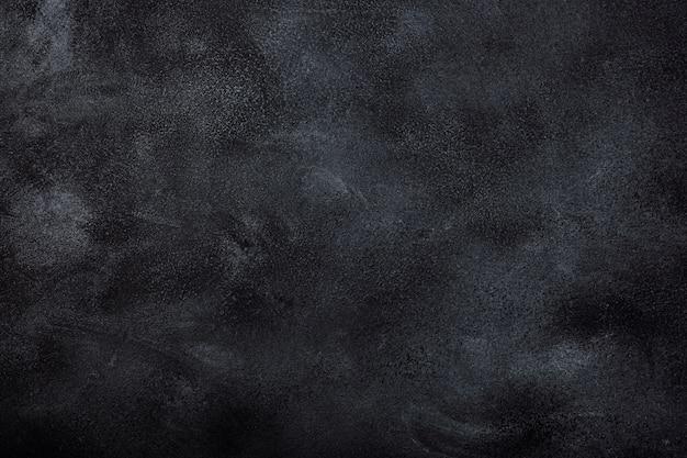黒のテクスチャ背景のクローズアップ
