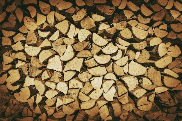 История бревен для дров