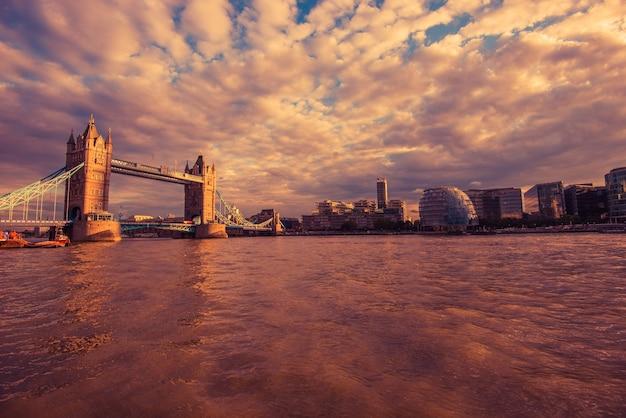 Лондонская река темза