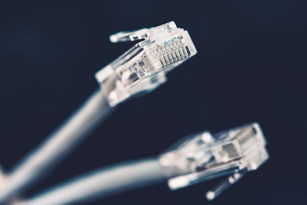Сетевые кабельные вилки