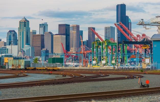 シアトル地区港