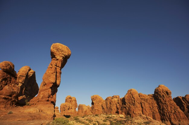 素晴らしいユタ州の岩