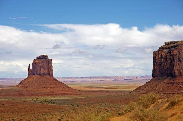 Аризонский сырой пейзаж
