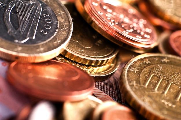 Европейские монеты евро