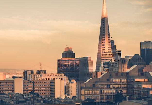 サンフランシスコのサンセット