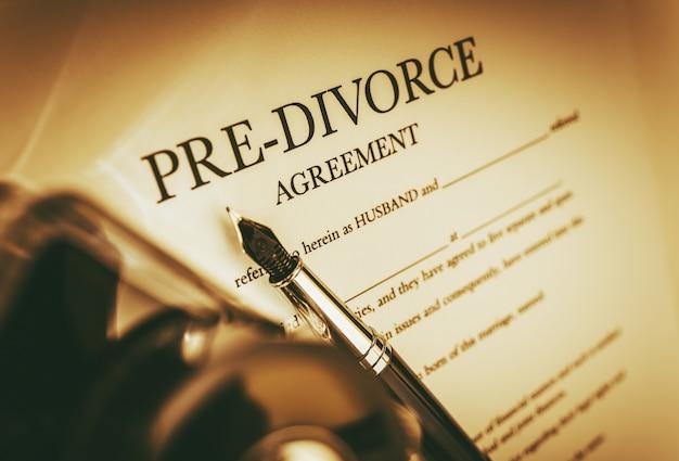 離婚前の合意