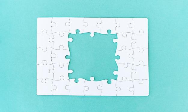 未完成のジグソーパズル
