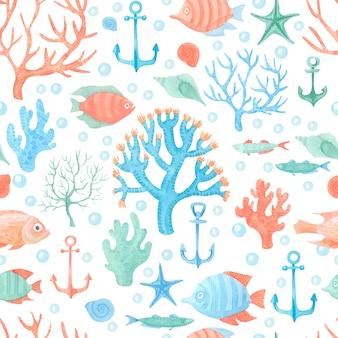 Фон морской темы
