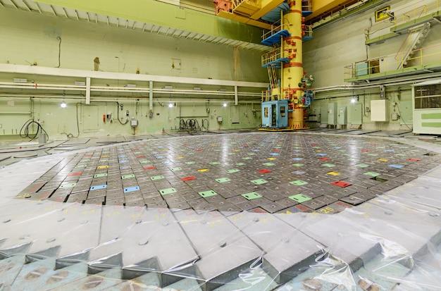 Реакторная комната рбмк.