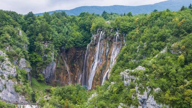 クロアチア自然海湖空