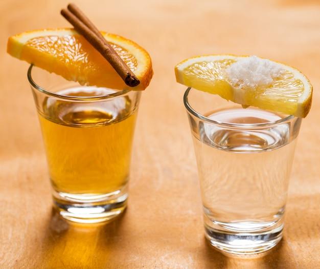 ウイスキーとテキーラ