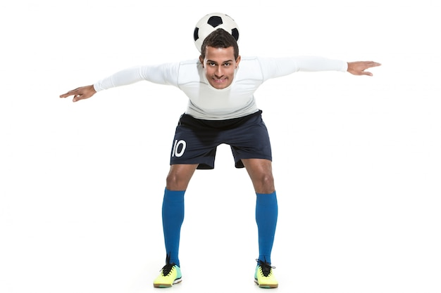 Футбольный игрок