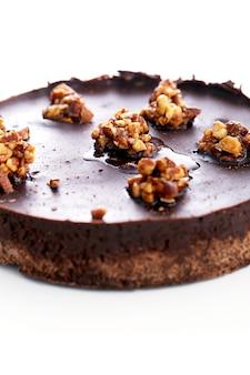 Вкусный пирог на столе