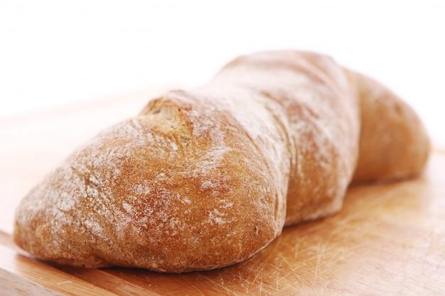 焼きたてのパンのクローズアップ