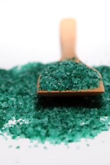 Натуральная цветная соль для ванн