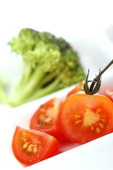 野菜のプレート