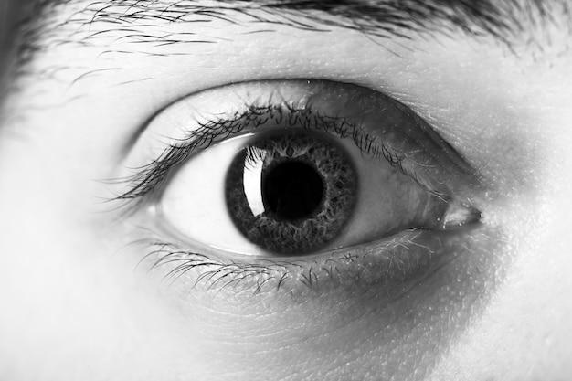 Крупным планом глаза