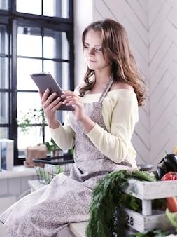 Женщина кухни