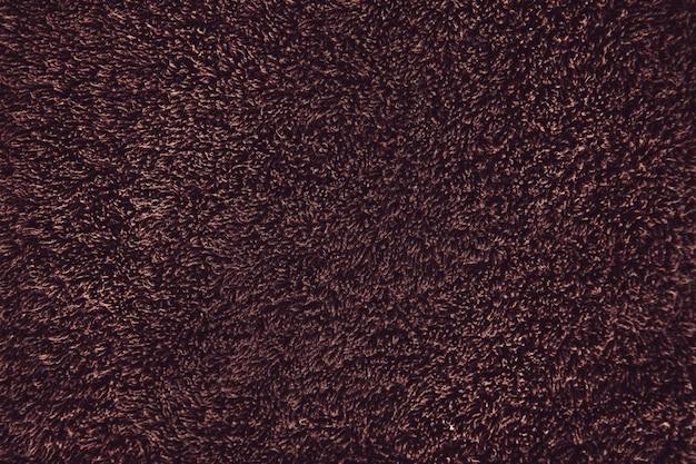 茶色のタオル