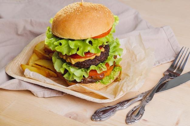 おいしいハンバーガー
