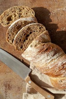 Хлеб на ткани