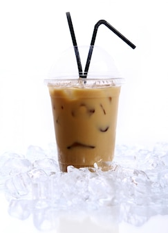 冷たいコーヒー飲料