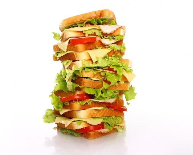 とても大きなサンドイッチ