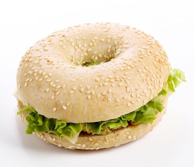 ベーグルサンドイッチ
