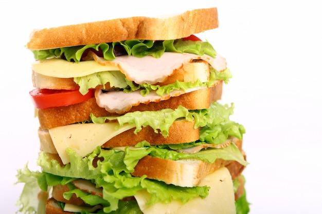 Очень большой бутерброд