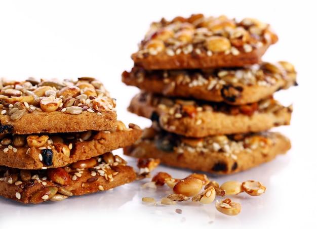 さまざまな成分のクッキー