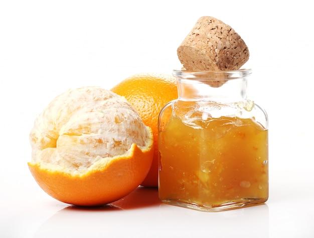 甘いオレンジジャム