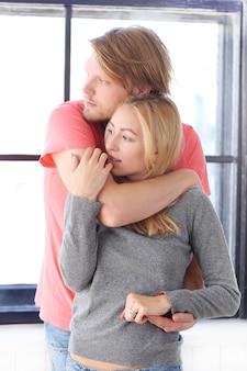 愛の美しいカップル