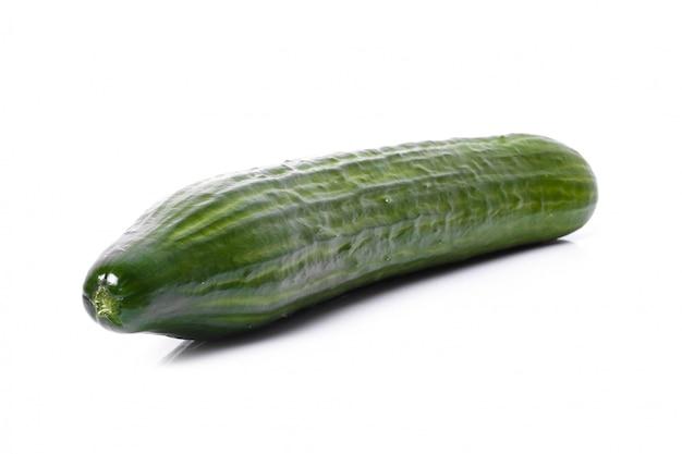 Зеленый огурец