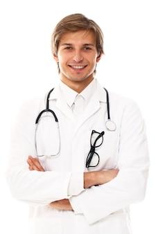 Портрет молодого доктора