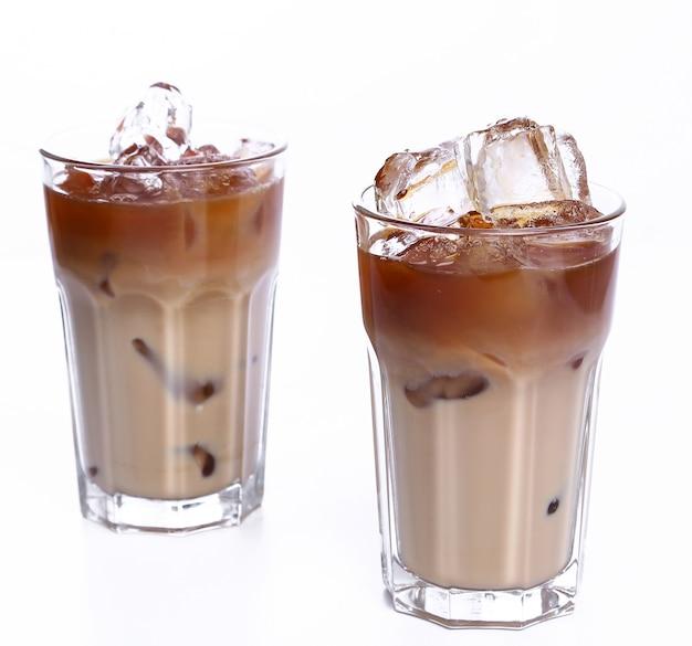 冷たいコーヒー