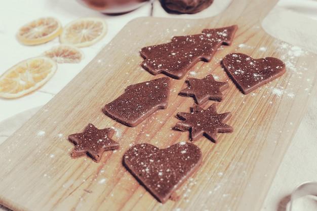 クッキーを作るプロセス