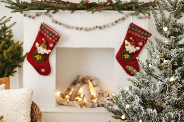 自宅でのクリスマスの装飾