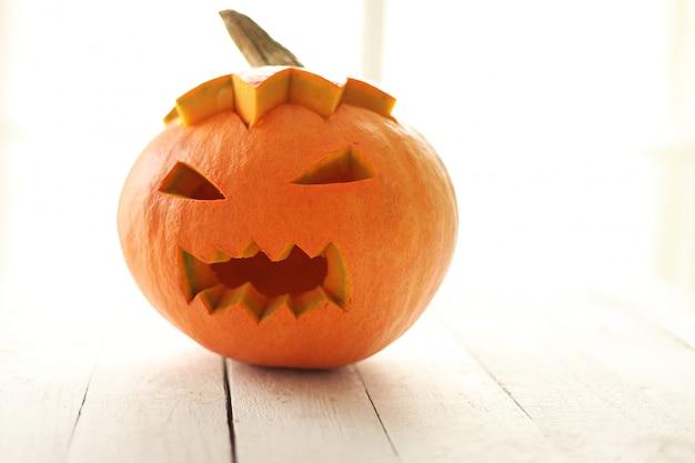 Злой хэллоуин тыква