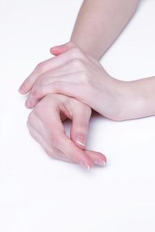 柔らかい手