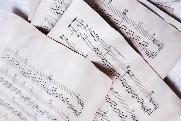 Старые ноты