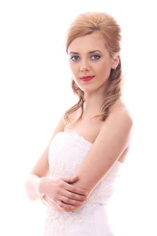 Молодая и красивая невеста