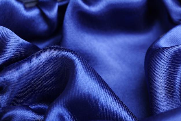 布の質感のクローズアップ