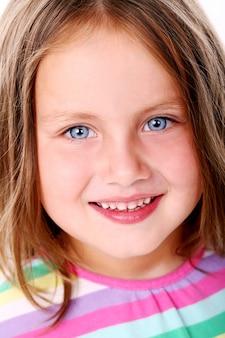 かわいい少女の肖像画