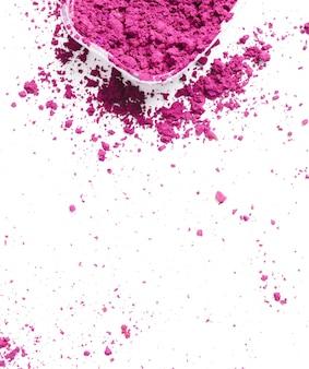 Розовый порошок, фон фестиваля холи