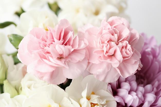 Красивый букет цветов крупным планом
