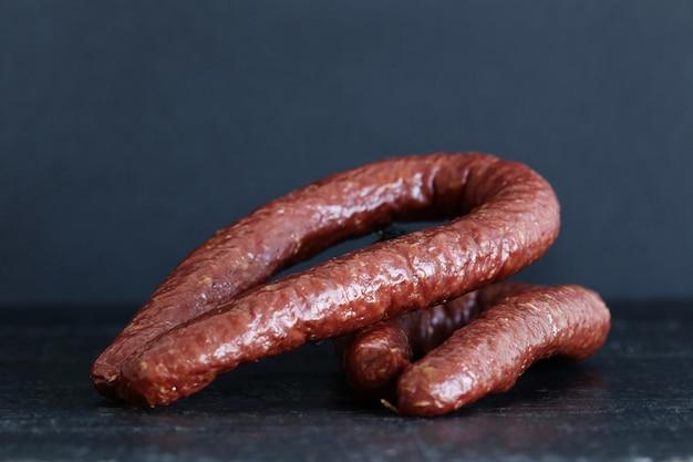 Вкусные колбаски