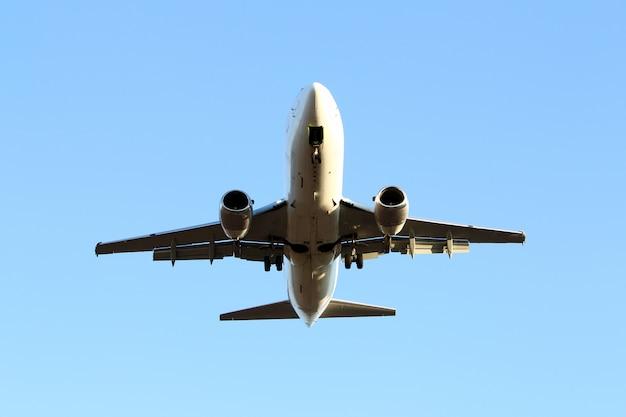 空の飛行機