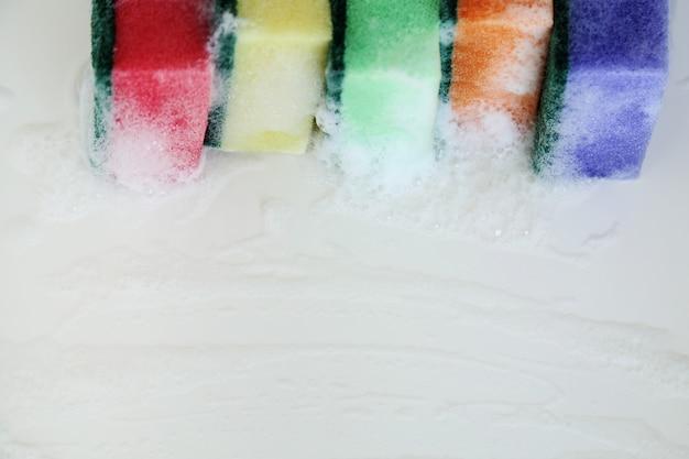 Разноцветные губки