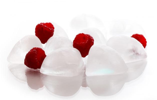 氷とラズベリー